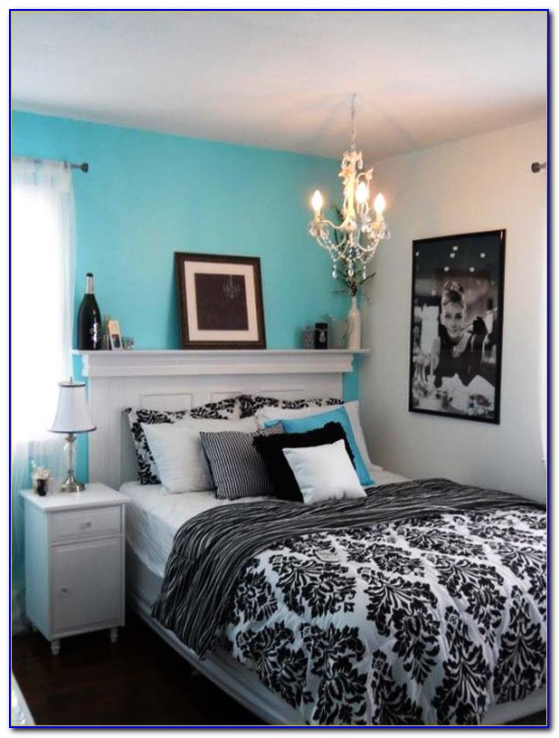 Tiffany Blue Bedroom Accessories