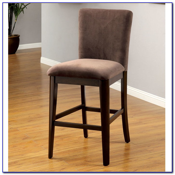 Upholstered Counter Height Chairs With Arms