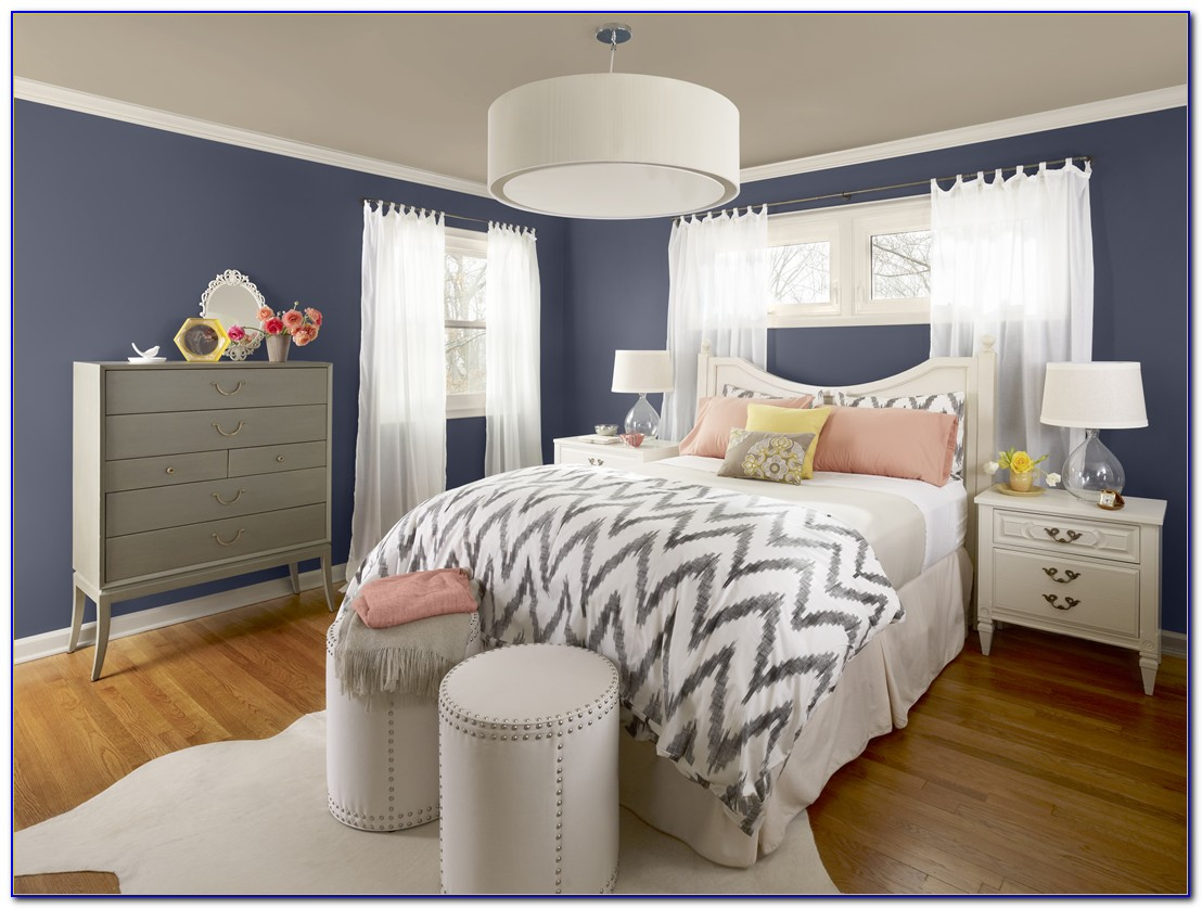 Wall Colours For Bedroom Combinations Blue
