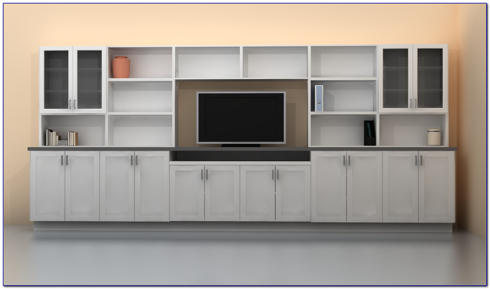 Wall Mounted Bedroom Storage Unit