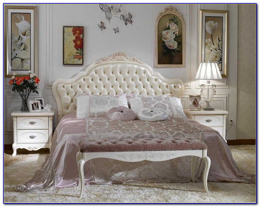 White French Style Bedroom Chairs