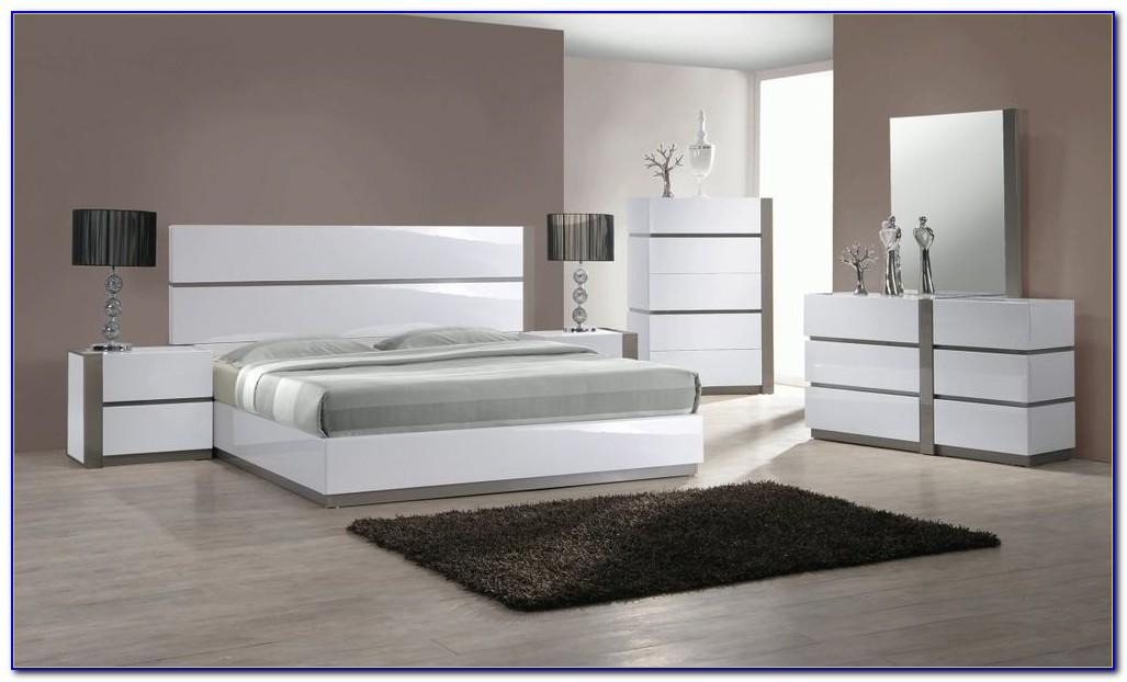 White High Gloss Bedroom Furniture Sets Uk