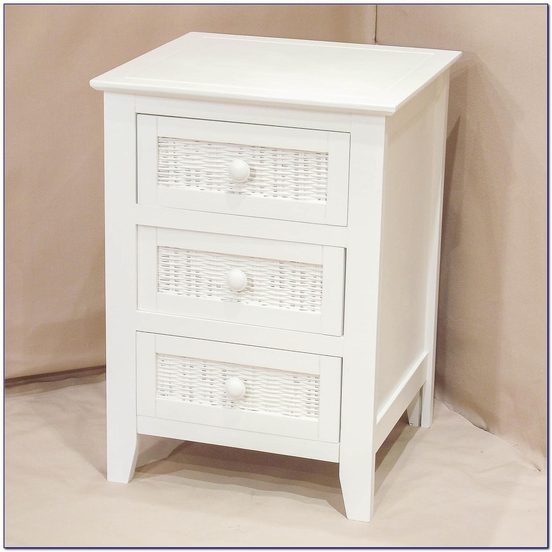 White Side Tables Bedroom