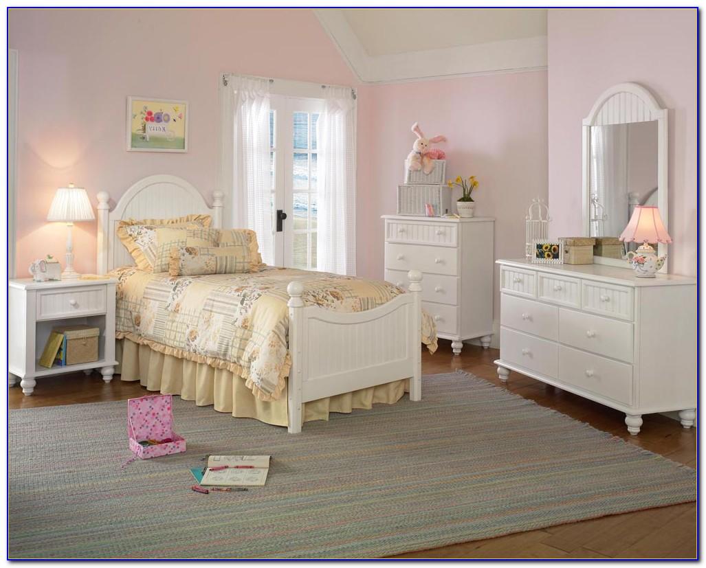White Youth Bedroom Set Stark