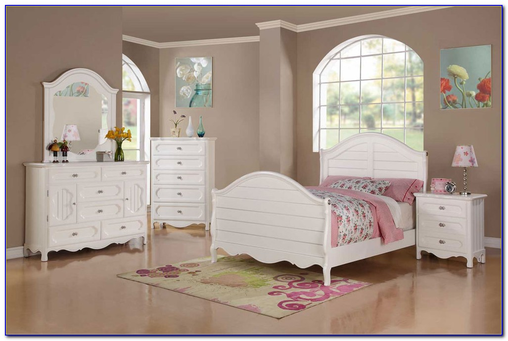 Youth White Bedroom Sets