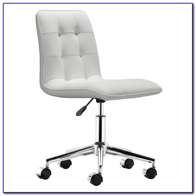 Zuo Ranger Armless White Stylish Office Chair