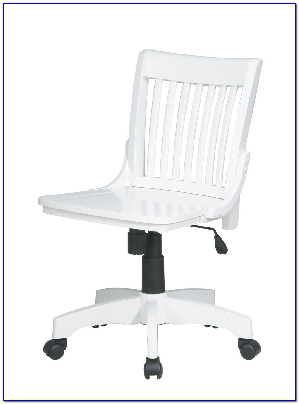 Zuo Scout White Armless Office Chair
