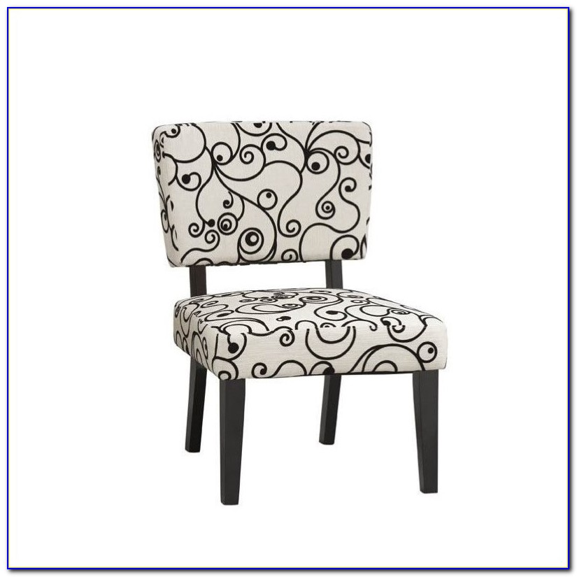 Accent Chairs Black And White