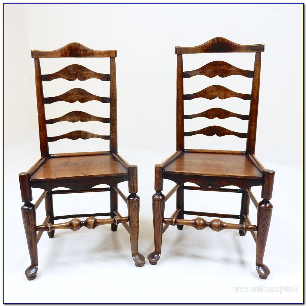 Antique Ladder Back Chairs History