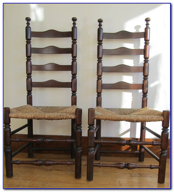 Antique Ladder Back Chairs Uk