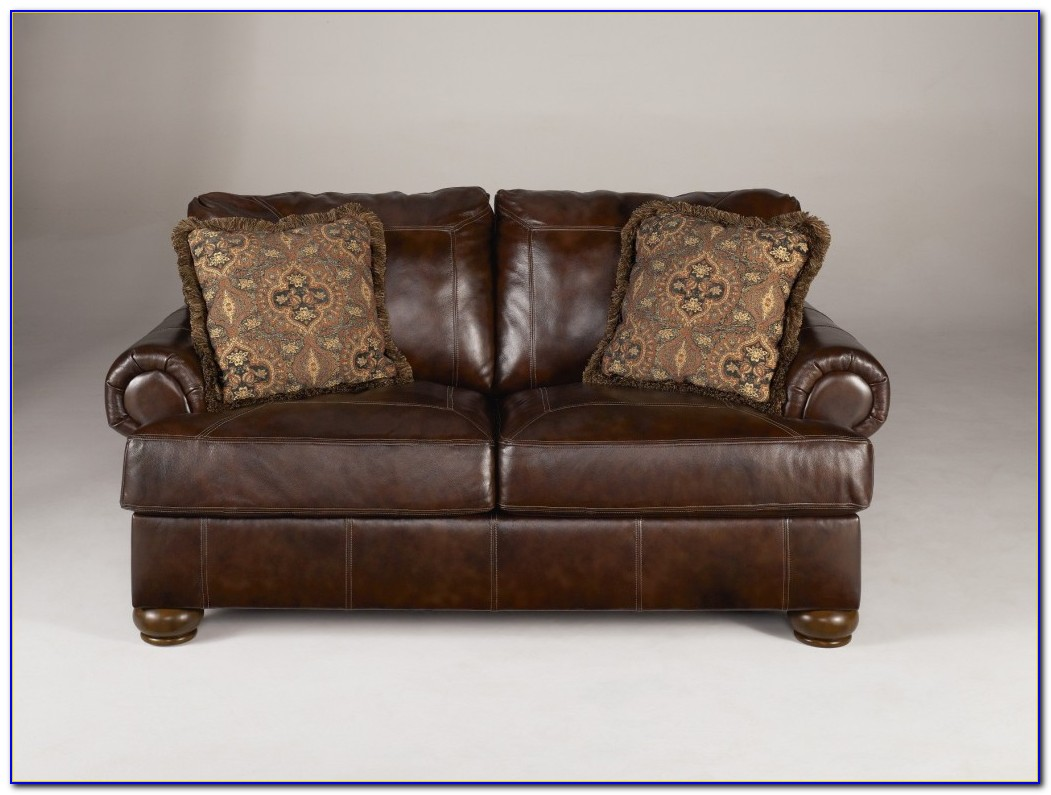 Ashley Furniture Leather Accent Chair