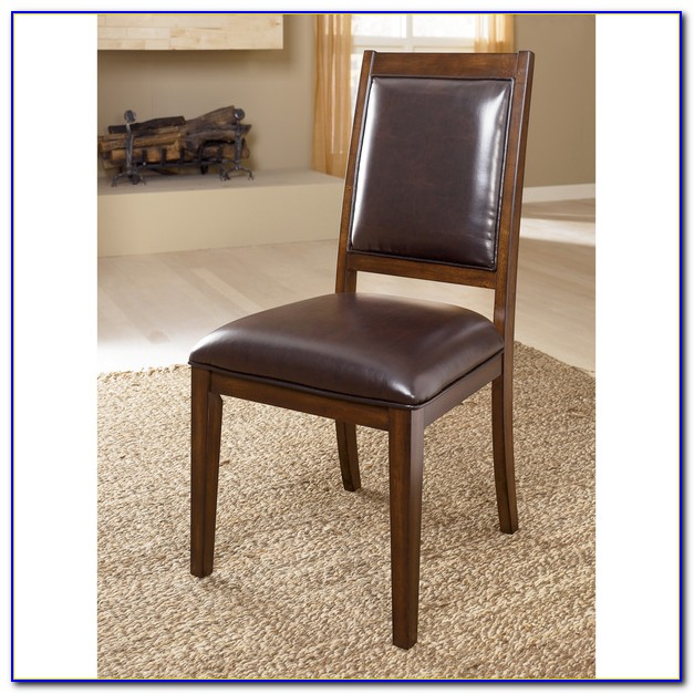 Ashley Furniture Tufted Dining Chairs