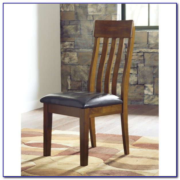 Ashley Furniture Wood Dining Chairs