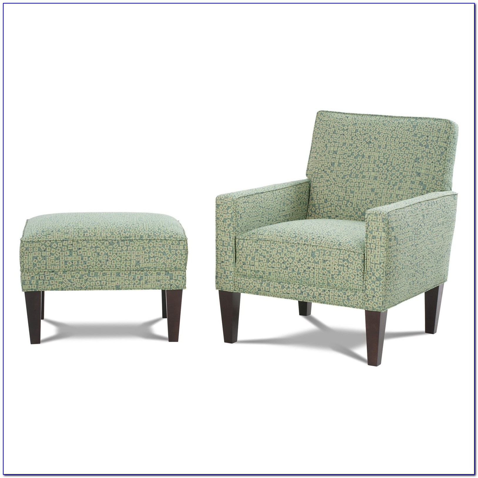 Benson Accent Chair And Ottoman