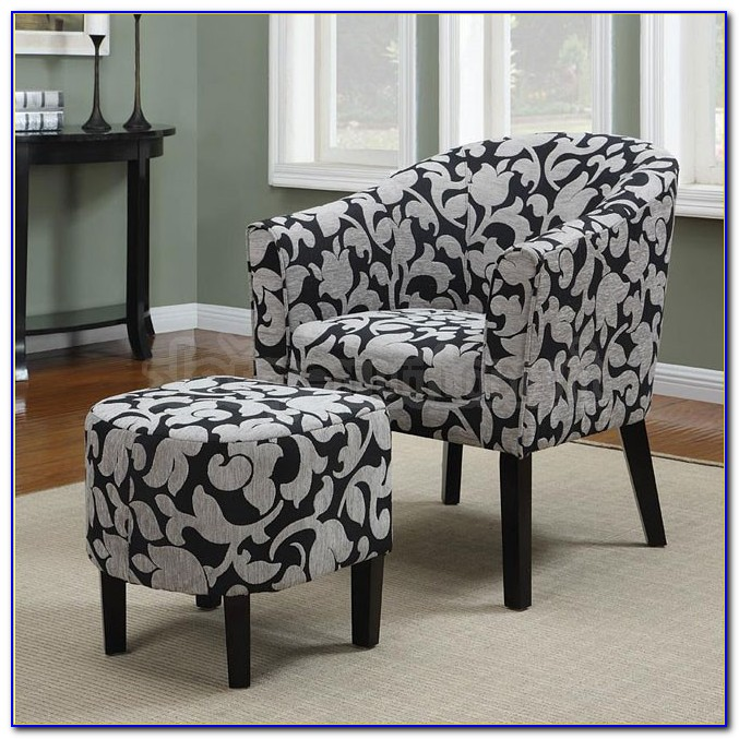 Black And White Accent Furniture
