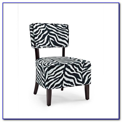 Black And White Modern Accent Chairs