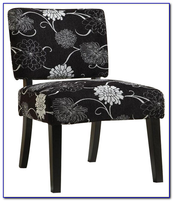 Black And White Occasional Chairs