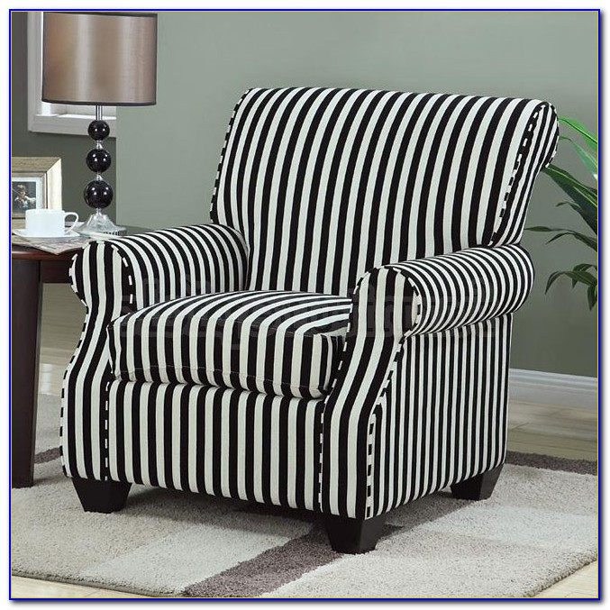 Black And White Print Accent Chairs