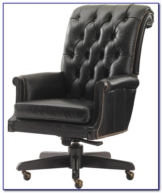 Black Leather Office Chairs Uk
