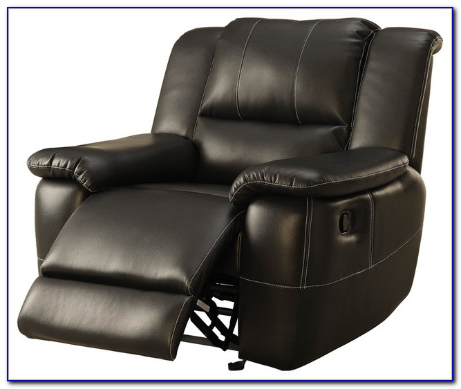 Black Leather Recliner Chair Argos