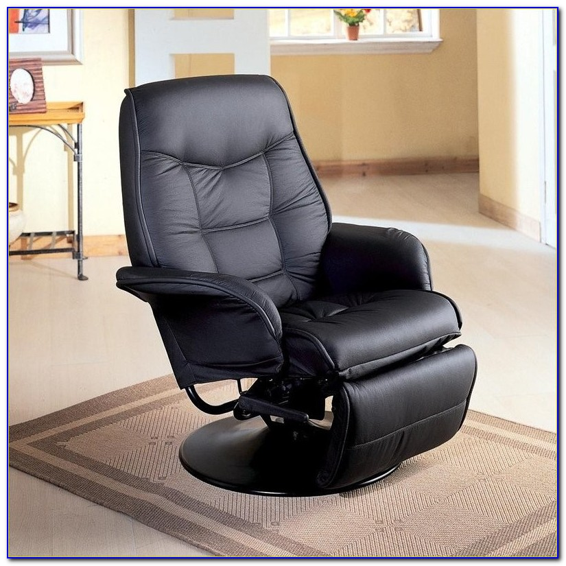 Black Leather Recliner Chair Glasgow