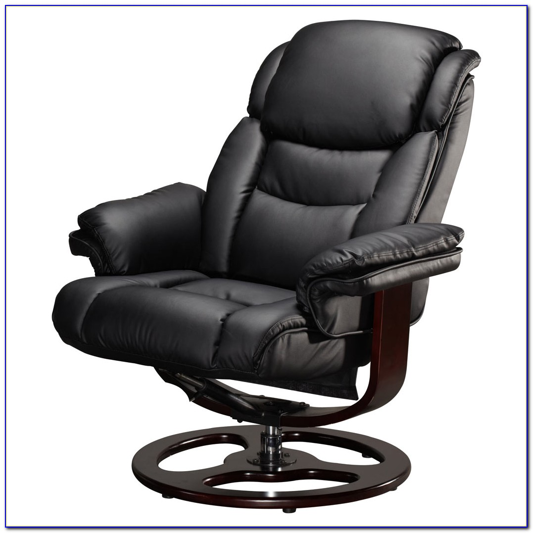 Black Leather Recliner Chair Gumtree