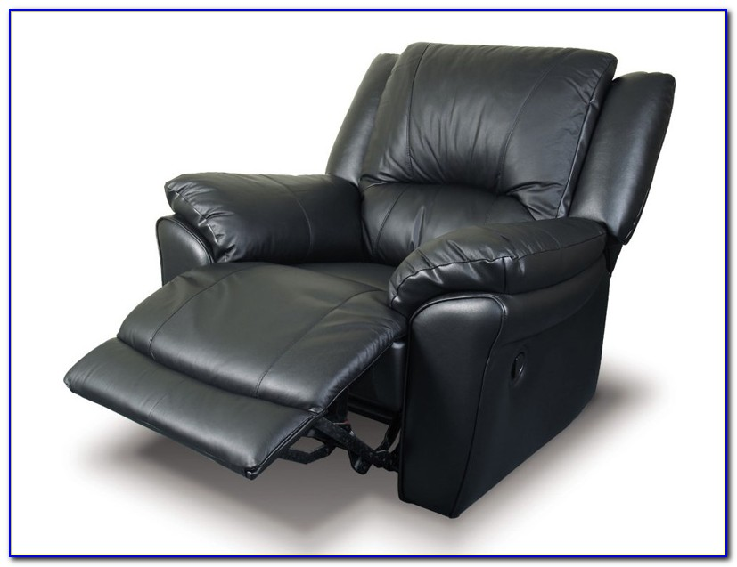 Black Leather Recliner Chairs Uk