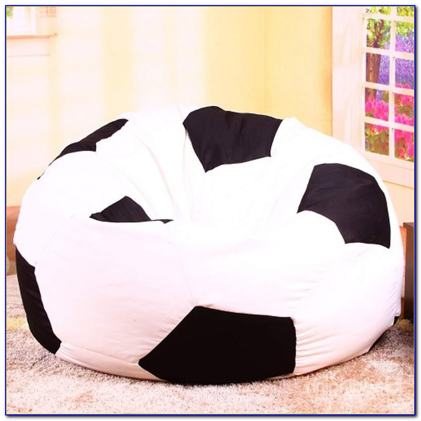 Blue Circles Luxury Soft Baby Bean Bag Chair
