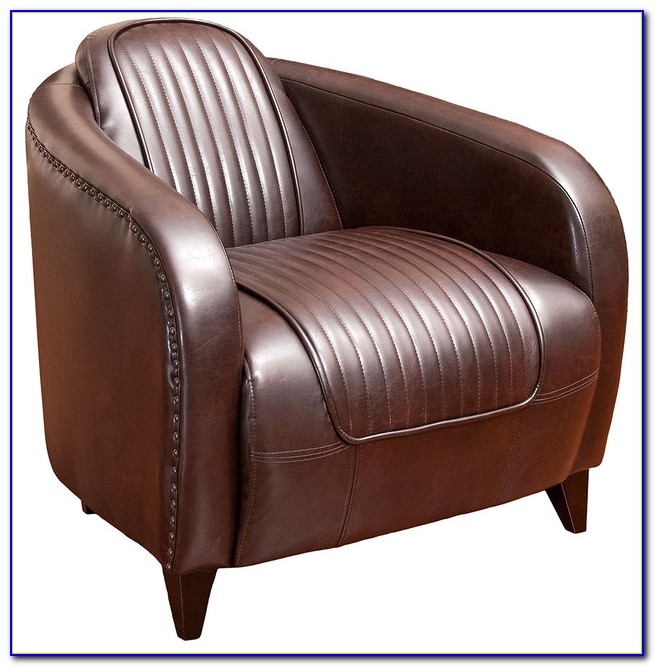 Brown Leather Club Chair Canada