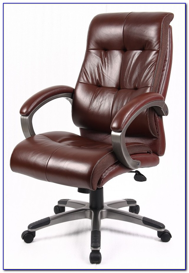 Brown Leather Desk Chair Uk