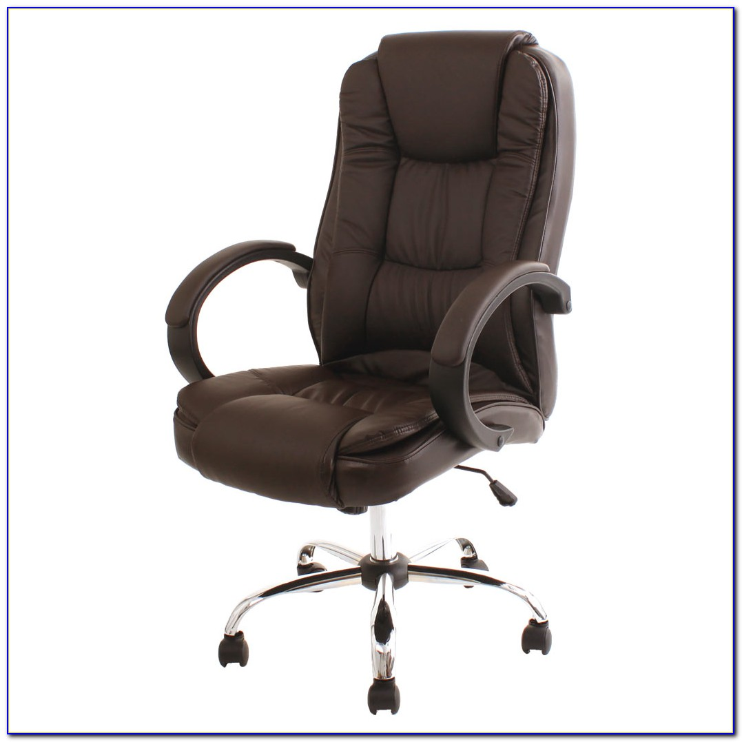Brown Leather Office Chair Amazon
