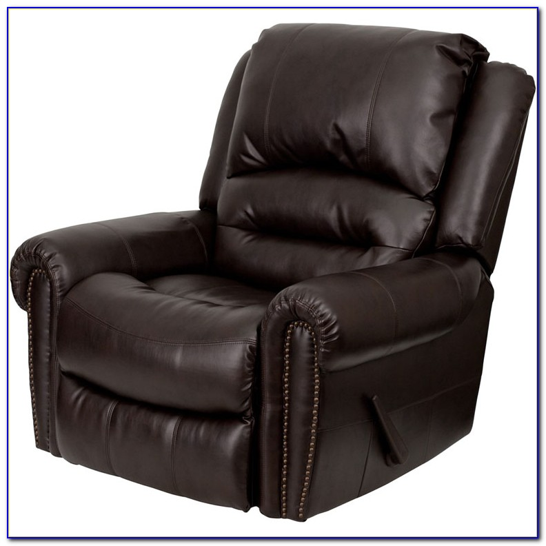 Brown Leather Recliner Chair Dfs