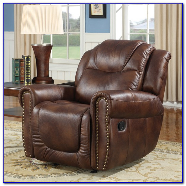 Brown Leather Recliner Chair Ebay