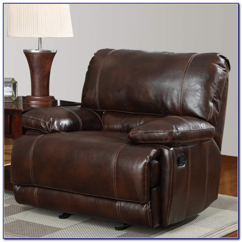 Brown Leather Recliner Chair Uk