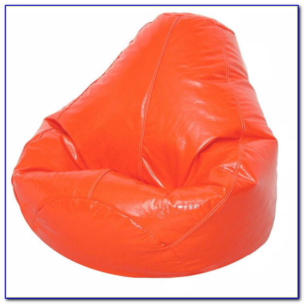 Burnt Orange Bean Bag Chair
