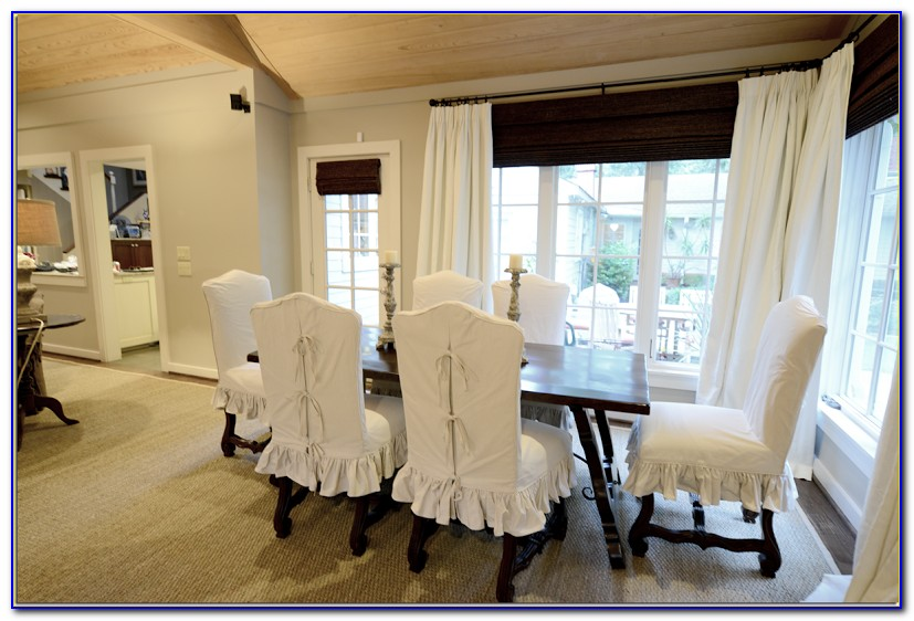 Chair Covers For Dining Room Chairs With Arms