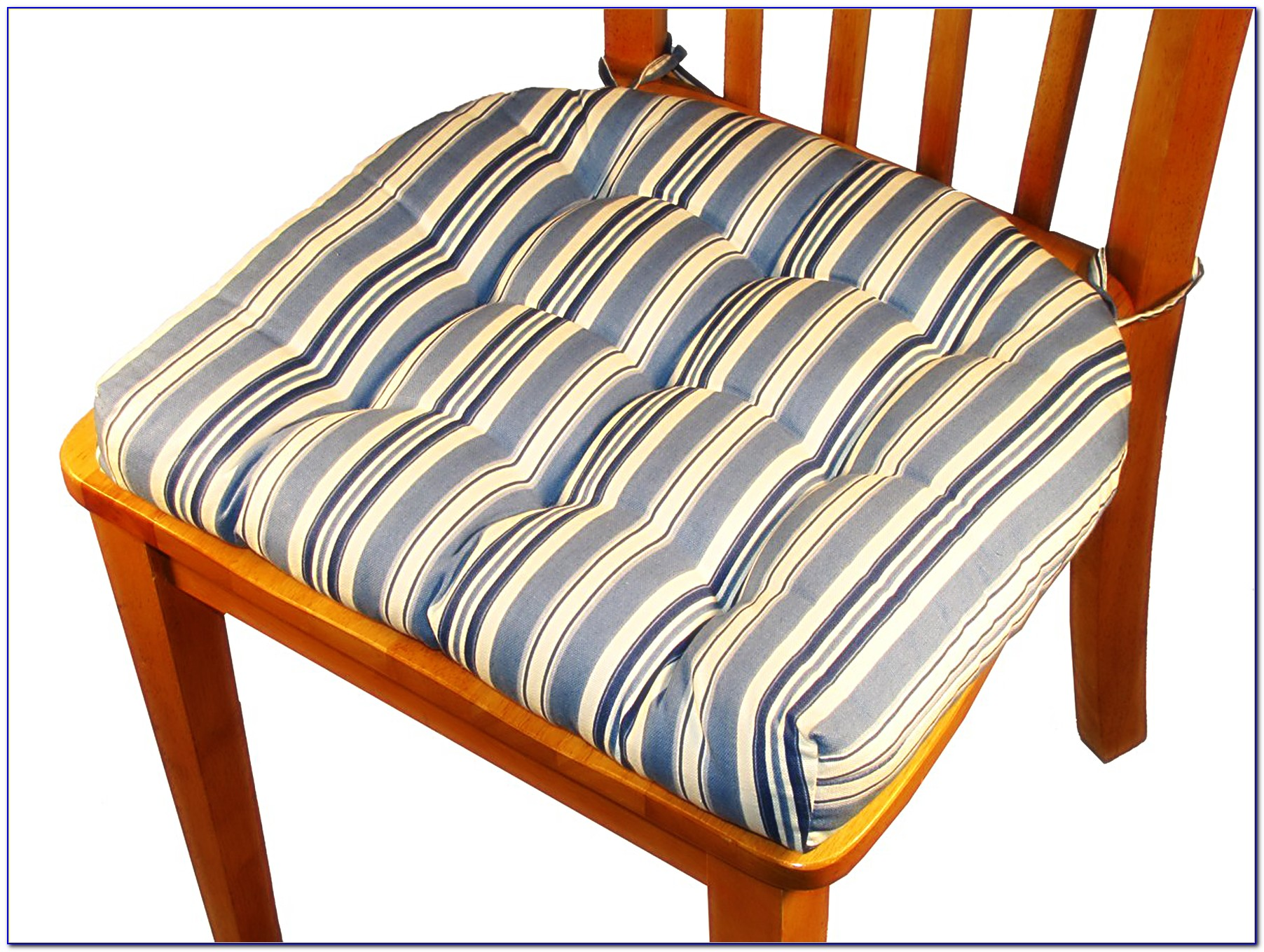 Chair Cushions With Ties French Country