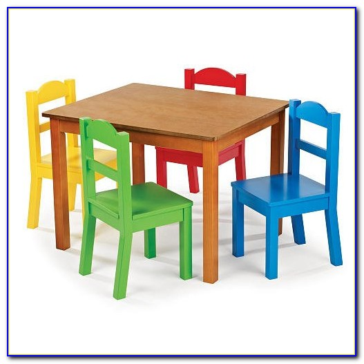 Child Table And Chair Set Plastic
