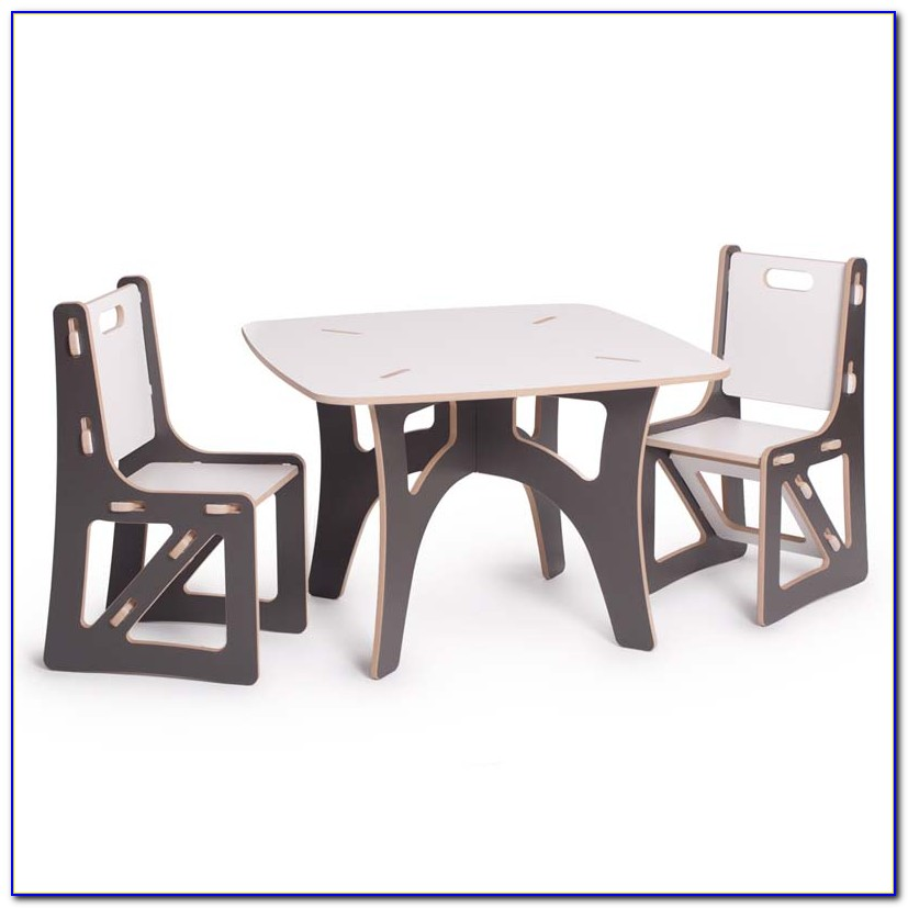 Child Table And Chair Set With Storage