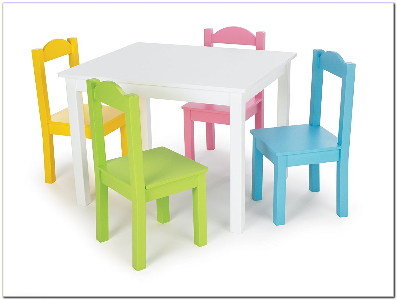 Child Table And Chair Set Wooden