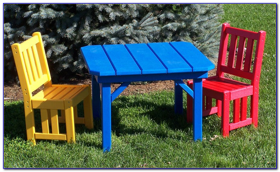 Children's Patio Table And Chairs