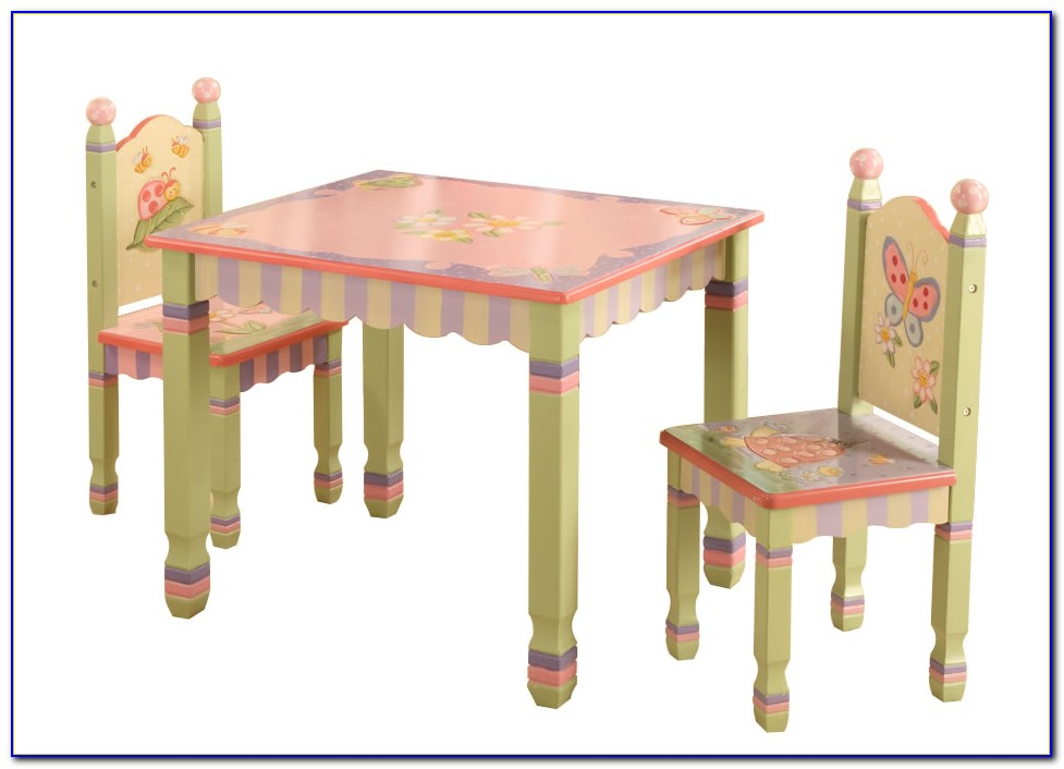 Childrens Table And Chairs Set Ebay