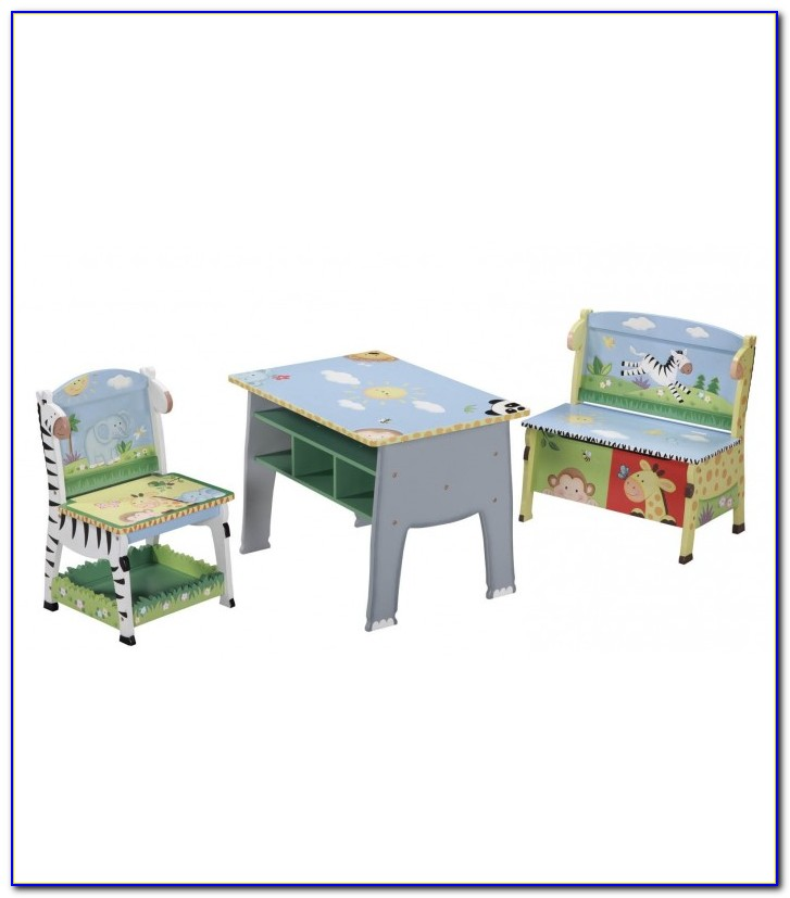Child's Desk Chair On Wheels