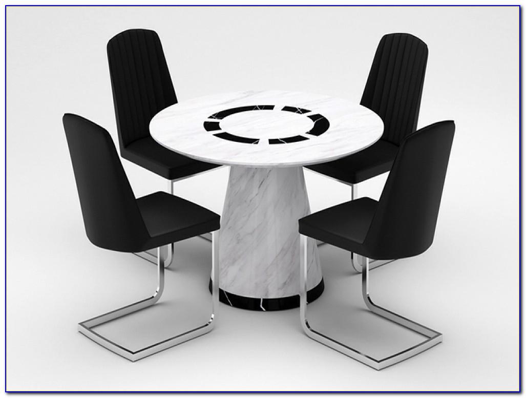 Circular Table And Chair Set
