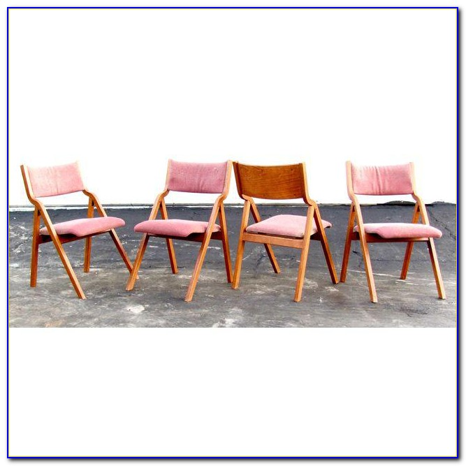 Cosco Steel Folding Chair Set Of 4