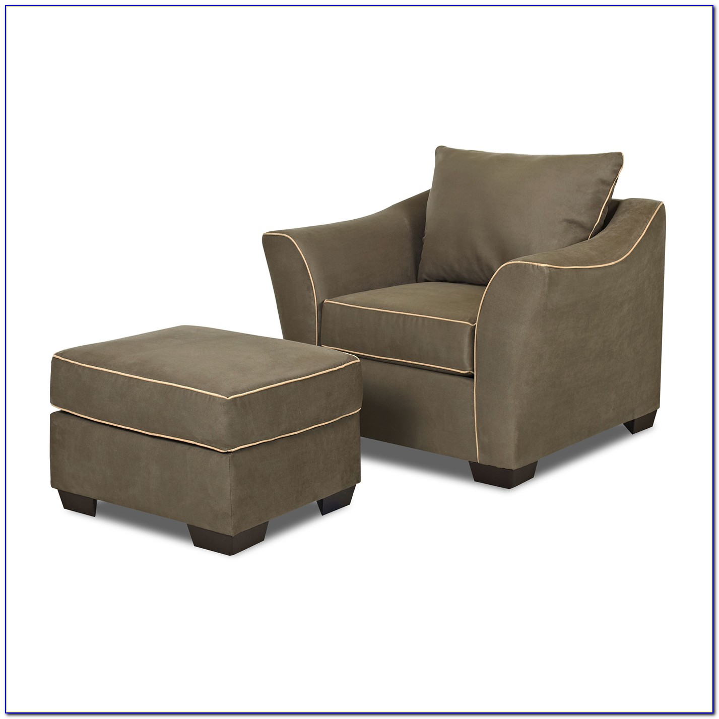 Crestview Accent Chair And Ottoman