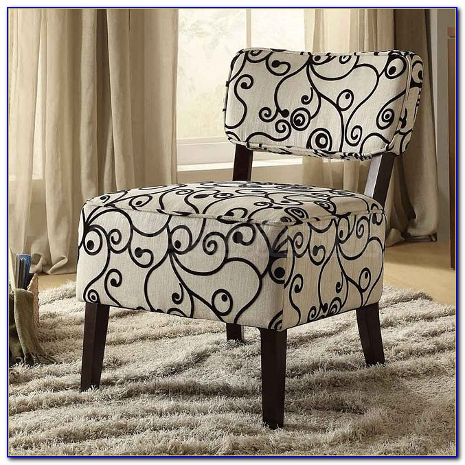 Cute Black And White Accent Chairs