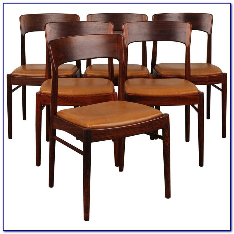 Danish Modern Dining Chairs Teak