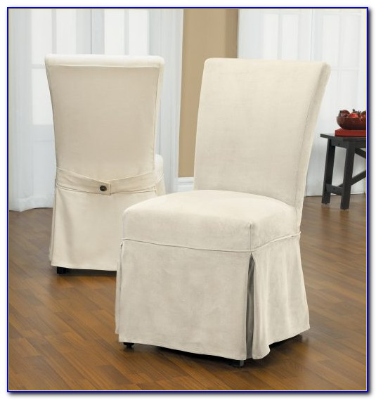 Dining Room Chair Slip Covers White
