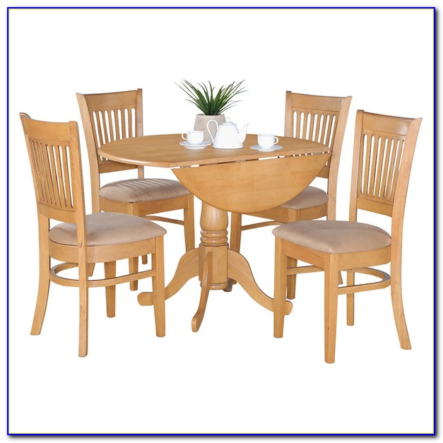 Drop Leaf Table And Chairs Set
